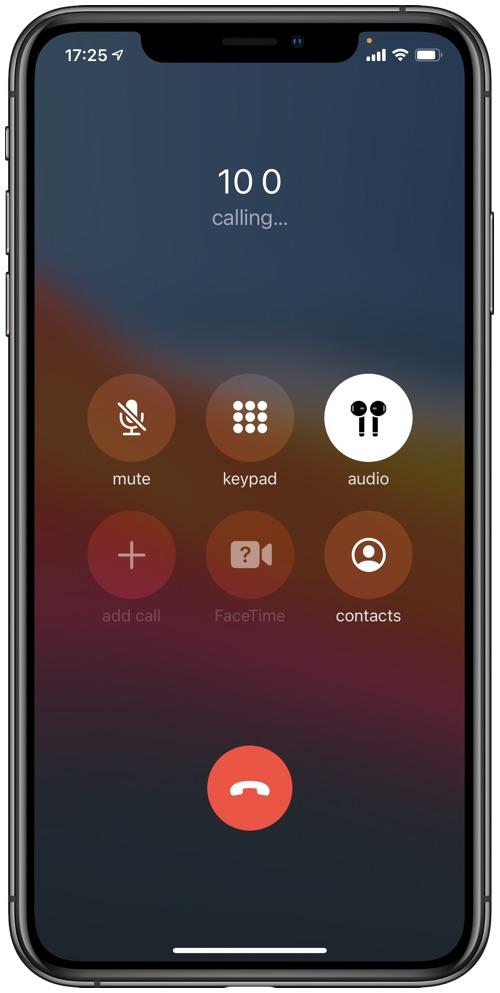 Πορτοκαλί ένδειξη εγγραφής iOS