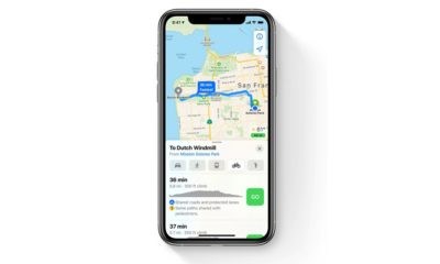 Apple Maps Cycling Directions