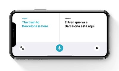 Translate app conversation mode