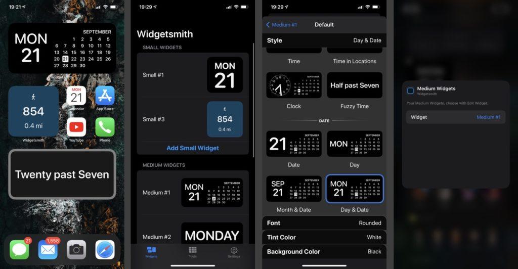 Εφαρμογές Widget για iPhone