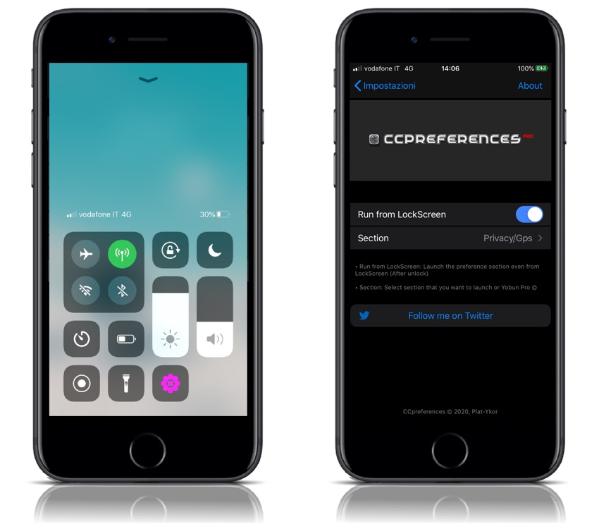 CCPreferences Pro Tweak