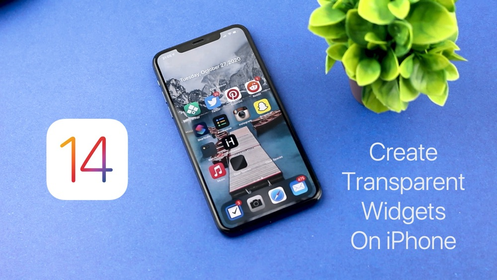 How To Add Transparent Widgets On iPhone Home Screen (Video) - iOS Hacker