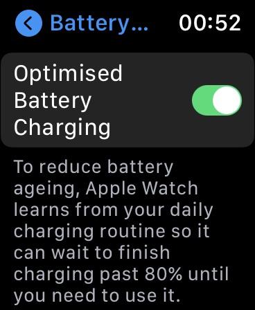 Αυξήστε τη διάρκεια ζωής της μπαταρίας του Apple Watch