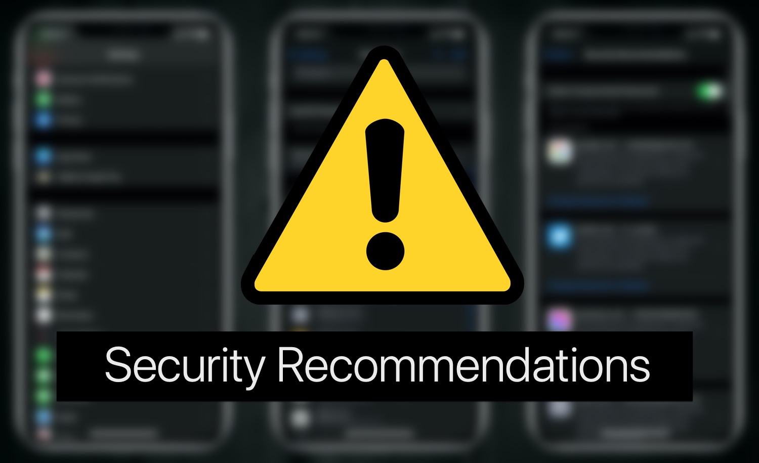 Security Recommendations: This Password Has Appeared In A Data Leak And More