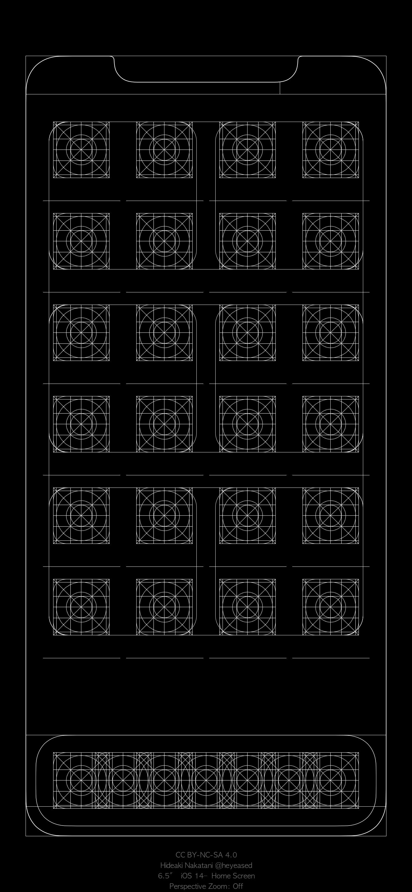 Ladda ner Blueprint-bakgrundsbilder till iPhone XS Max