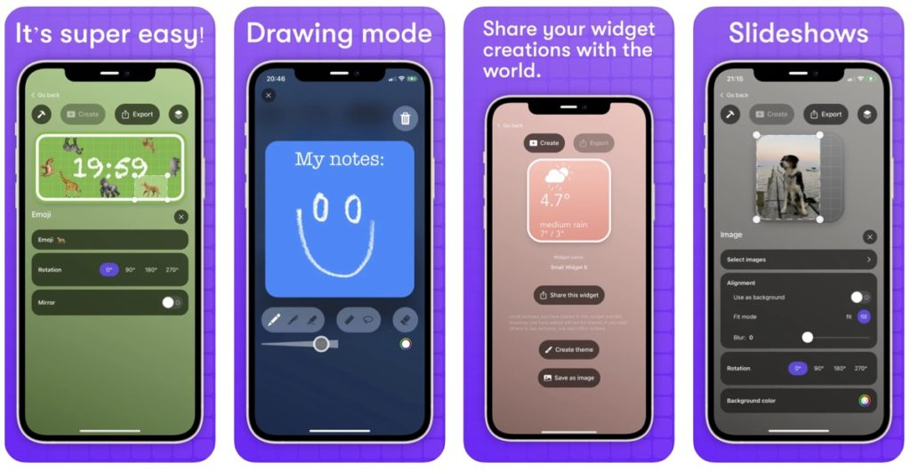 Καλύτερες εφαρμογές δημιουργίας widget