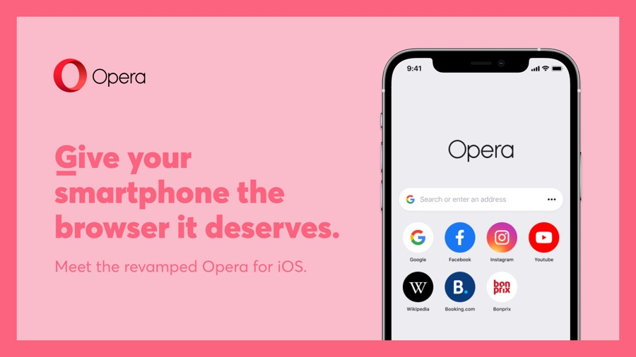 Opera Browser For iOS Gets New Name, Design And Features - iOS Hacker