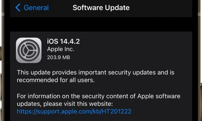 Download iOS 14.4.2 and iOS 12.5.2 (Direct Download Links) - iOS Hacker