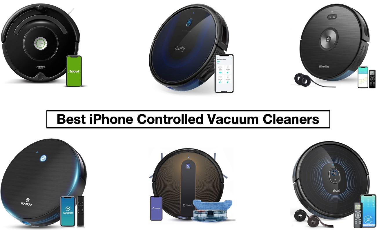Top 7 iPhone Controlled Robot Vacuum Cleaners In 2021 - iOS Hacker