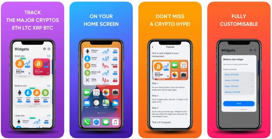 App per monitorare prezzo criptovalute